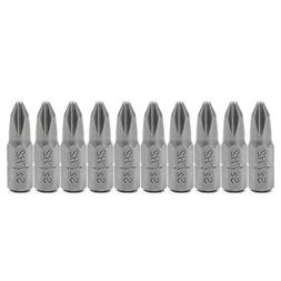 Sarora - 10 Pcs S2 Steel Screwdriver Bits 25mm Hex Shank Tor