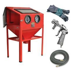 Sandblaster Cabinet | Air-compressor