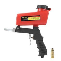 Sandblasting Gun, Portable Air Siphon Gravity Feed Blast Gun