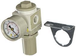 PneumaticPlus SAR2000M-N02BG Miniature Air Pressure Regulato