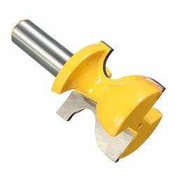 1/2 Inch Shank Solid Hardened Steel Router Bit