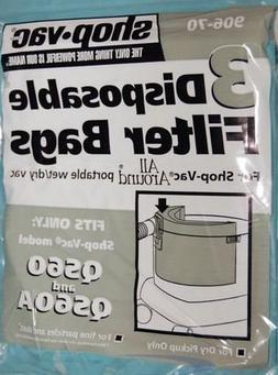 Shop-Vac Paper Bag, Qs60 Only 1.5 Gallon 3Pk #SV-90670