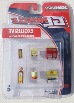 SHOPTOOLS MULTI Diorama Accessories  - 1/64 Greenlight #1312