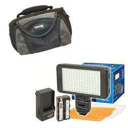 Sony DCR-DVD508 Camcorder Lighting Vidpro Ultra-Slim LED-150