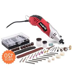 Hi-Spec High Speed Rotary Tool Kit  with Variable Speed & 12