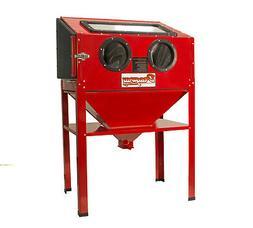 New 60 Gallon Sandblast Cabinet Sand Blaster Air Tool w/ 40l