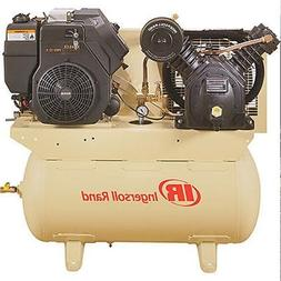 Stationary Air Compressor - Electric & Recoil - 30 Gallons -