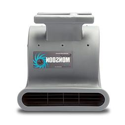 Soleaire Super Monsoon SA-SM-1HP-GY Grey Air Mover Carpet Dr