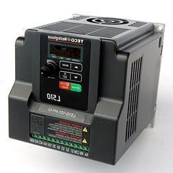 Teco Variable Frequency Drive, 1 HP, 115 Volts 1 Phase Input
