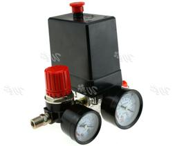 Three Phase Compressor Pressure Switch With Air Regulator &