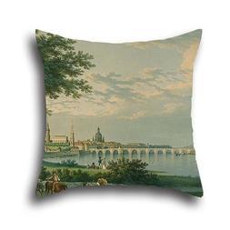 Throw Cushion Covers Of Oil Painting Christian Gottlieb Hamm