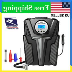 Tire Inflator Car Air Pump Compressor Electric Portable Auto