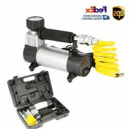 Tire Inflator Car Auto Air Pump Compressor Electric Portable