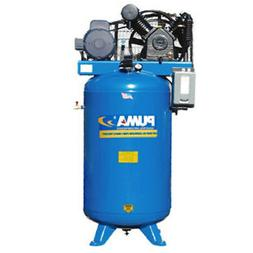 Puma TN-5080VM3 208-230-Volt 5-HP 80-Gallon Vertical Two-Sta