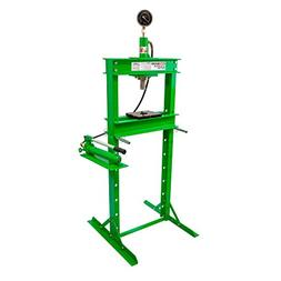 OEMTOOLS 24811 12 Ton Hydraulic Shop Press with Gauge
