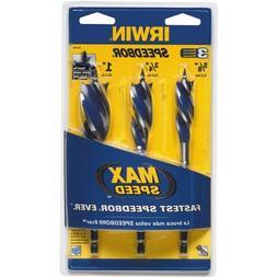IRWIN Tools Speedbor Max Speed Drill Bit Set 3-Piece