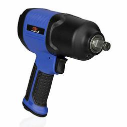 Tooluxe 30127L Air Impact Wrench 1/2 Inch Square Drive, Supe