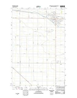 Topographic Map Poster - QUINCY, WA TNM GEOPDF 7.5X7.5 GRID