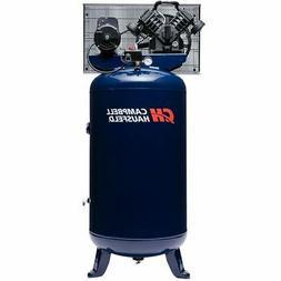 Air Compressor, 80 Gallon, Vertical Compressor, Single-Stage