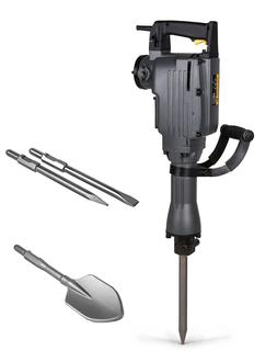 TR Industrial TR89100 Electric Demolition Jackhammer with Po