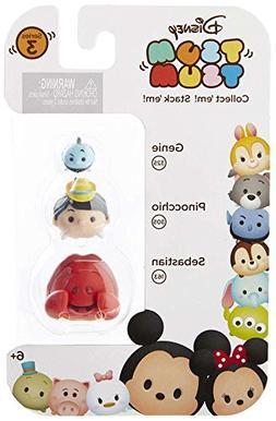"Disney Tsum Tsum Series 3 Genie, Pinocchio & Sebastian 1"" Mi"