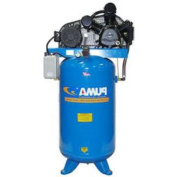 Puma TUK-5080VM3 208-230-Volt 5-HP 80-Gallon Two-Stage Air C