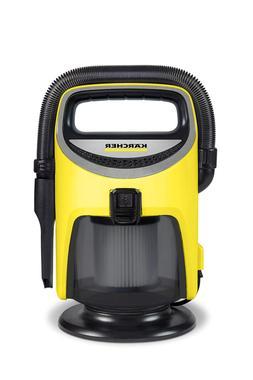 Karcher TV1 Indoor Wet/Dry Vacuum, Yellow