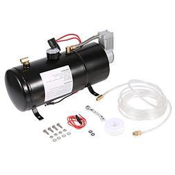 Air Compressor Pump,12V 150PSI Air Compressor Horn Tank Vehi