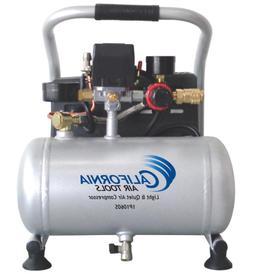 Ultra Quiet Portable Garage Air Compressor w/ Oil-Free Pump