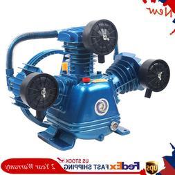 Universal 115PSI 4HP W Type 3 Cylinder Air Compressor Pump H