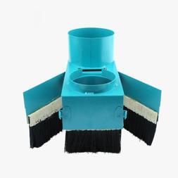 ELEOPTION Upgraded Spindle Dust Shoe Cover Cleaner Brush Vac