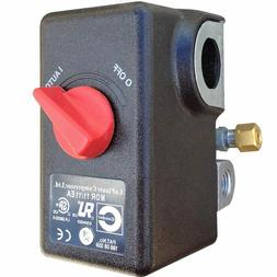 Condor USA MDR11 Air Compressor Pressure Switch 105-135PSI,