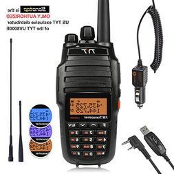 TYT UV8000E 10W High Power Dual Band Two-Way Radio, Walkie T