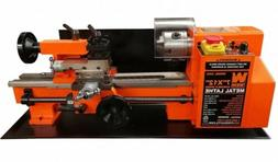 "WEN Variable Speed 2-Direction Benchtop Metal Lathe 7"" x 12"""