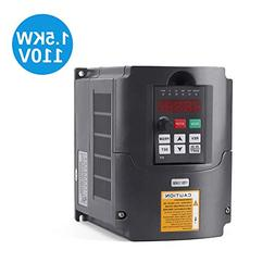 VFD 1.5KW/110V 3hp Variable Frequency Drive CNC VFD Motor Dr
