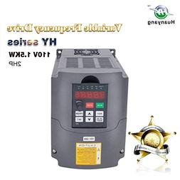 VFD 110V 1.5KW 2hp Variable Frequency Drive CNC Drive Invert
