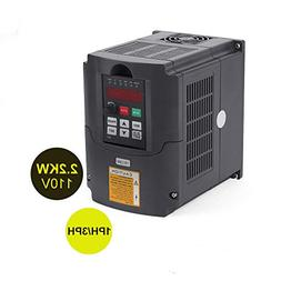 VFD 110V 2.2KW 3hp Variable Frequency CNC Motor Drive Invert