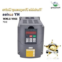 VFD 220V 2.2KW 3hp Variable Frequency Drive CNC VFD Motor Dr