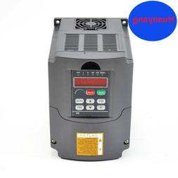 110V 2.2KW VFD  VARIABLE FREQUENCY DRIVE INVERTER FOR CNC HU