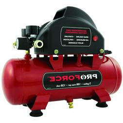 Pro Force VPF0000201 2-Gallon Oil Free Air Compressor With K