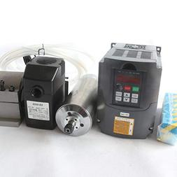 1.5KW Water Cooled Spindle Motor ER11 110V/AC Kit & 1.5kw 11