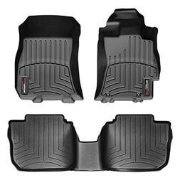 WeatherTech 44259-1-2 Series Black Front and Rear FloorLiner