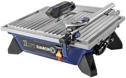 7-in Wet Tabletop Tile Saws Power Tool Aluminum Table Cerami