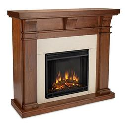 Real Flame 7730-X-WN Porter Electric Fireplace, Walnut