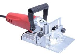 Wood Plate Jointer Power Tool Joiner Biscuit Kit 110v