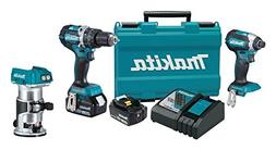 Makita XT269M 18V LXT Lithium-Ion Brushless Cordless 2-Pc. C