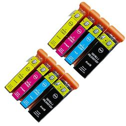 HOTCOLOR High Yield Compatible ink cartridge Combo set 8 Pac