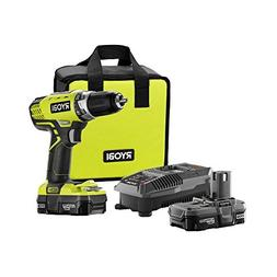 Ryobi ZRP1811 18-Volt ONE+ Lithium-Ion Compact Drill/Driver